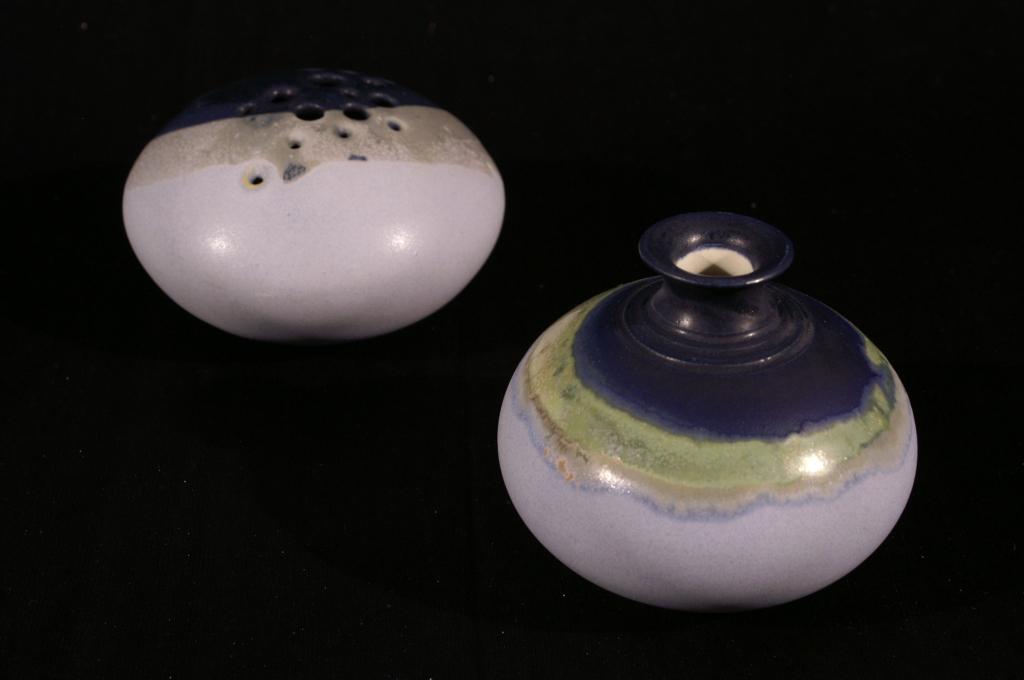 Keramik Kerzenständer Kerzenhalter Blumenvase